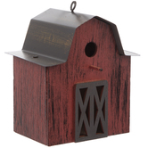 Red Barn Birdhouse Ornament