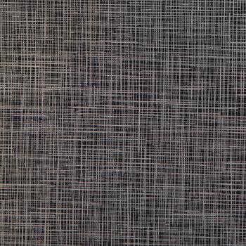 Black Linen Foil Iron-On Transfer