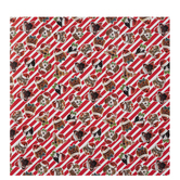 Dogs & Cats Striped Gift Wrap