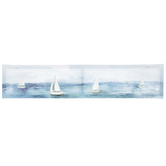 Watercolor Sailboats Canvas Wall Decor