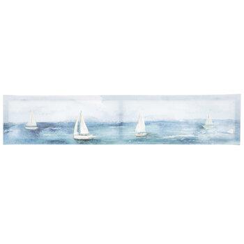 Watercolor Sailboats Canvas Wall Decor