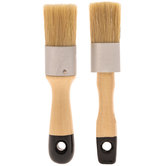 Paint & Wax Brushes - 2 Piece Set