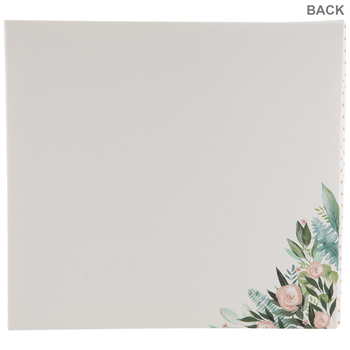 "Family Floral Post Bound Scrapbook Album - 12"" x 12"""