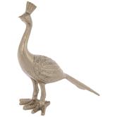 Gold Metal Peacock