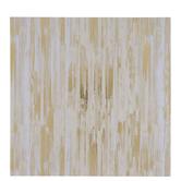 """Gold Foil & Cream Brush Texture Cardstock Paper - 12"""" x 12"""""""