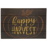 Happy Harvest Wood Wall Decor