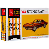 1963 Corvette Stingray Model Kit