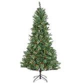 Mountain Cashmere Twinkle Pre-Lit Christmas Tree - 7 1/2'