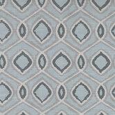 Blues & Gray Geometric Fabric