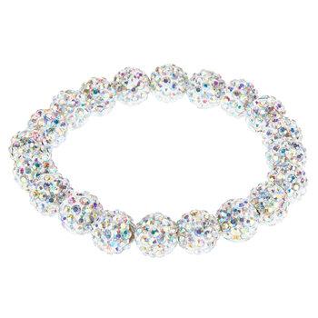 White Bead Bracelet