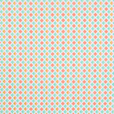 Pastel & Gold Diamond Rows Apparel Fabric