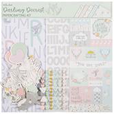 """Darling Deerest Scrapbook Kit - 12"""" x 12"""""""