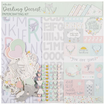 "Darling Deerest Scrapbook Kit - 12"" x 12"""