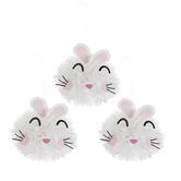 Bunny Tissue Pom Poms