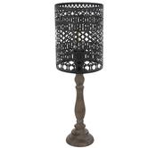 Gray Metal Lamp