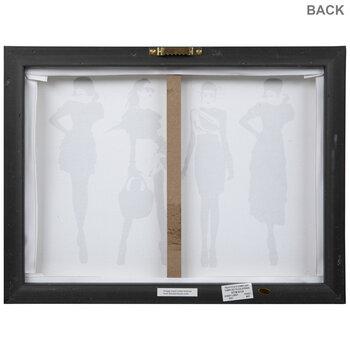 Black & White Models Canvas Wall Decor