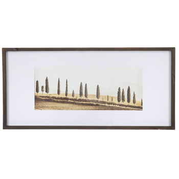 Trees In The Country Framed Wall Decor