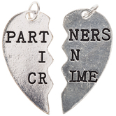 Partners in Crime Charms