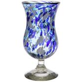 Bahia Hurricane Stemmed Glass