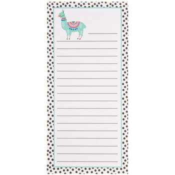 Llama Magnetic Lined Notepad