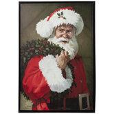 Santa Claus Canvas Wall Decor
