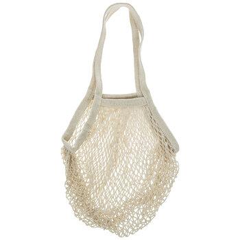 Ivory Mesh Tote Bag