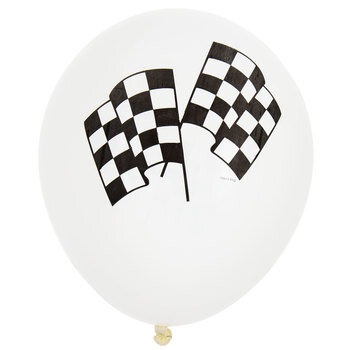 Checkered Flag Balloons