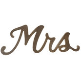 Brown Mrs Wood Decor