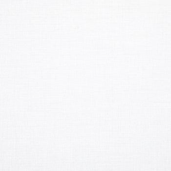 White Buckram Fabric