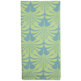 Green & Teal Leaves Cloth Napkin