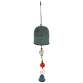 Blue Bird Bell Wind Chime