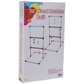 Wood Ladder Ball Game