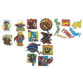Marvel Superhero 3D Stickers