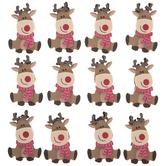 Christmas Foam Reindeer Stickers