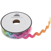 Multi-Color Ombre Ric Rac Trim