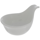 White Bowl With Side Handle