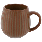 Vertical Striped Mug