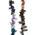 Rainbow Dyed Agate Chip Bead Strands