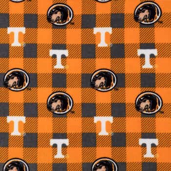 Tennessee Allover Collegiate Fleece Fabric