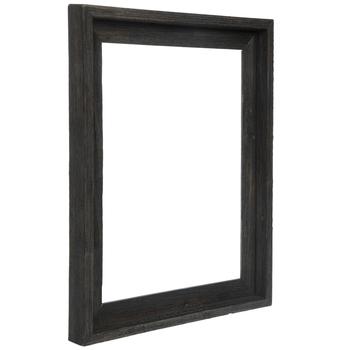 """Gray Barnwood Open Frame - 11"""" x 14"""""""