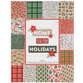 "Home For The Holidays Paper Pack - 8 1/2"" x 11"""