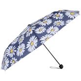 Navy Daisy Umbrella