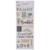 Floral Family Foil Stickers