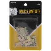 Nailess Sawtooth Hangers