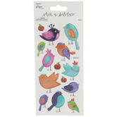 Translucent Birds Stickers