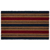 Red & Blue Nautical Rope Doormat