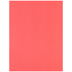 84 Coral Canson Heavyweight Colorline Paper - 19