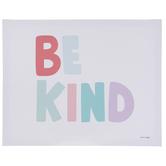 Be Kind Canvas Wall Decor