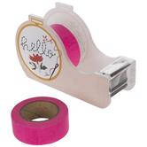 Hello Embroidery Hoop Tape Dispenser