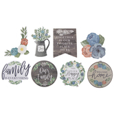 Farmhouse Family Floral Stickers
